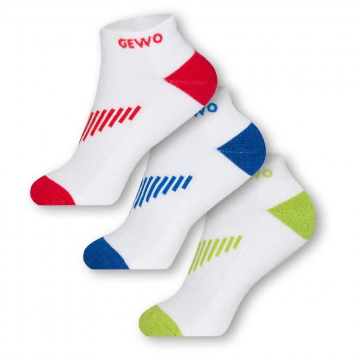 Gewo Socke Short Flex 3er Pack