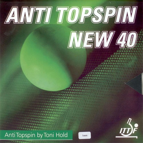 Toni Hold Belag Anti Topspin New 40