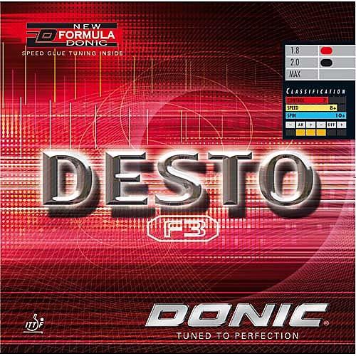 Donic Belag Desto F3