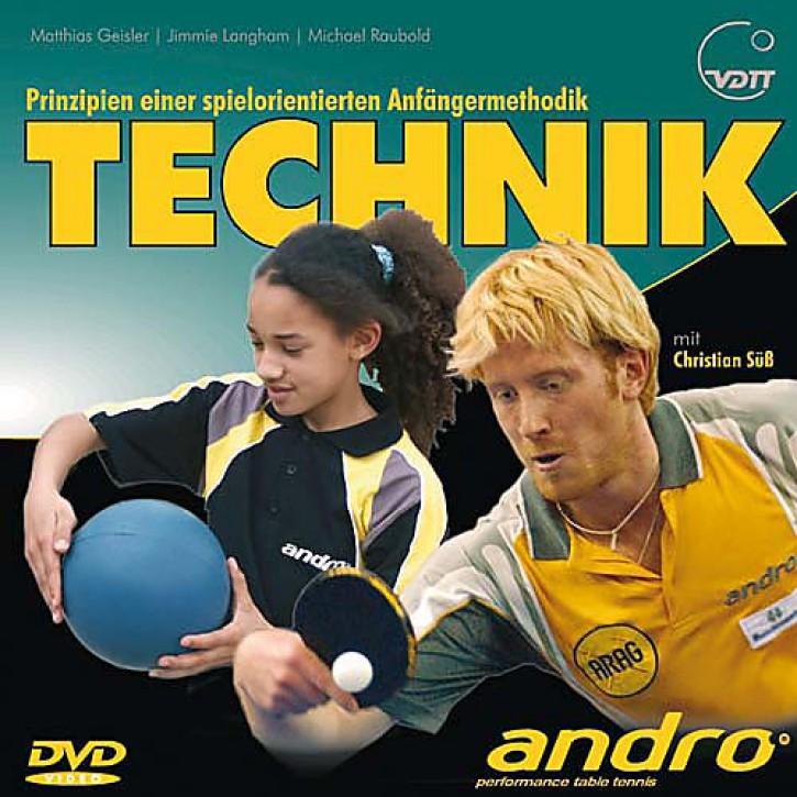 DVD: Tischtennis Technik m. C.Süß (Geisl