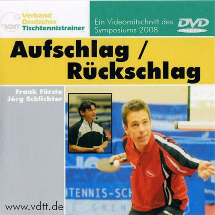 VDTT DVD Aufschlag / Rückschlag