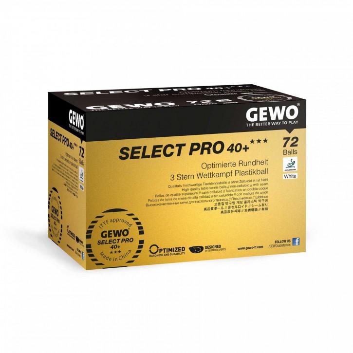 GEWO Ball Select Pro 40+ *** 72er