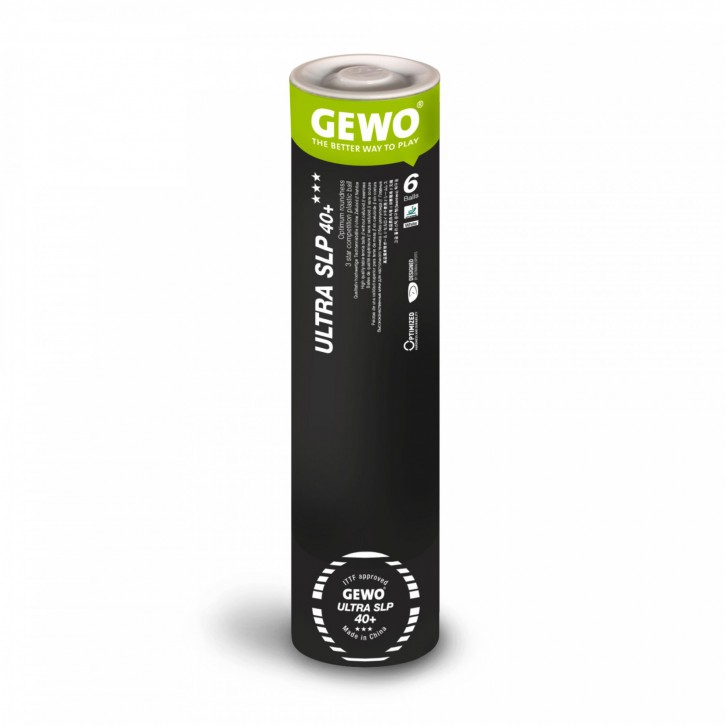 Gewo Ball Ultra SLP 40+ *** 6er tube