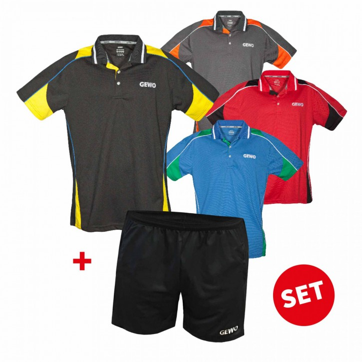 Gewo Set Hemd Leon+ Short Lagon