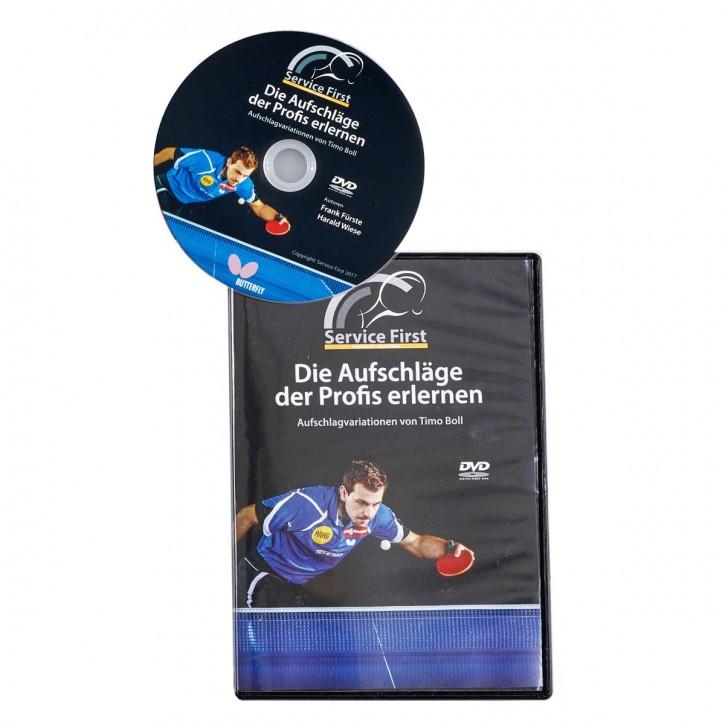 DVD: Die Aufschläge der Profis