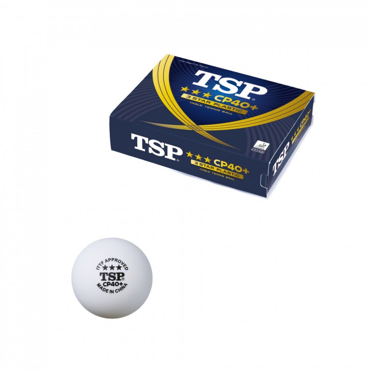 TSP BALL CP40+ 3*** 12er
