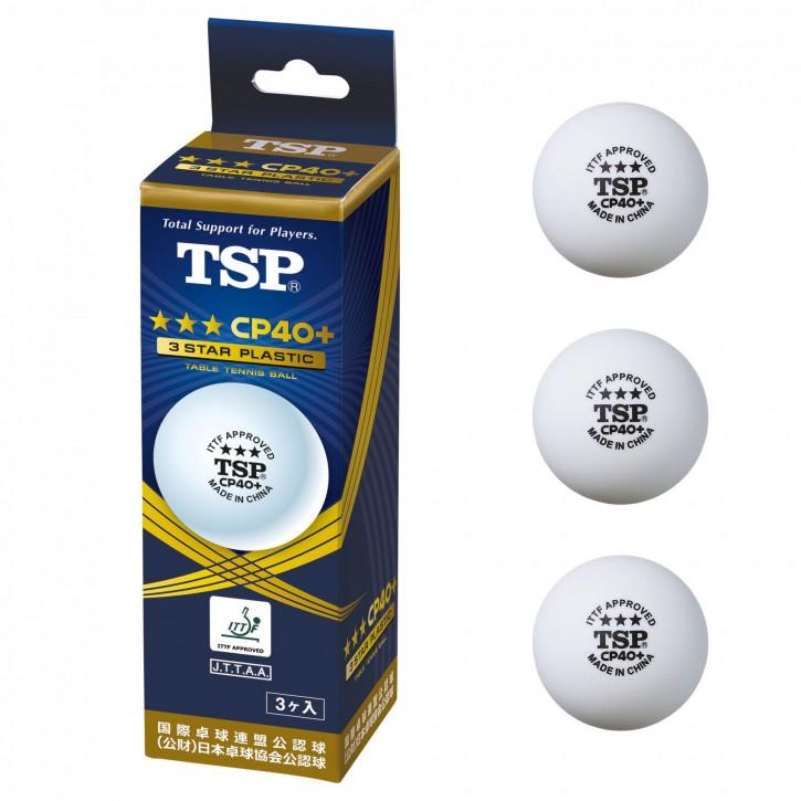 TSP BALL CP40+ 3*** 3er