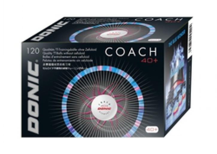 Donic 40+ Coach Plastk  120er