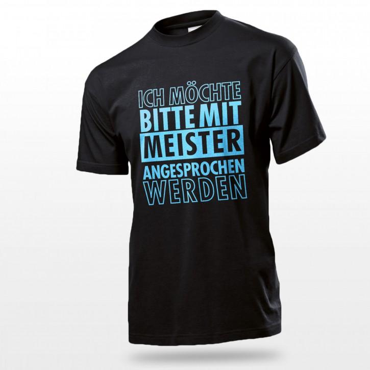"""Fun Shirt """"Meister"""""""