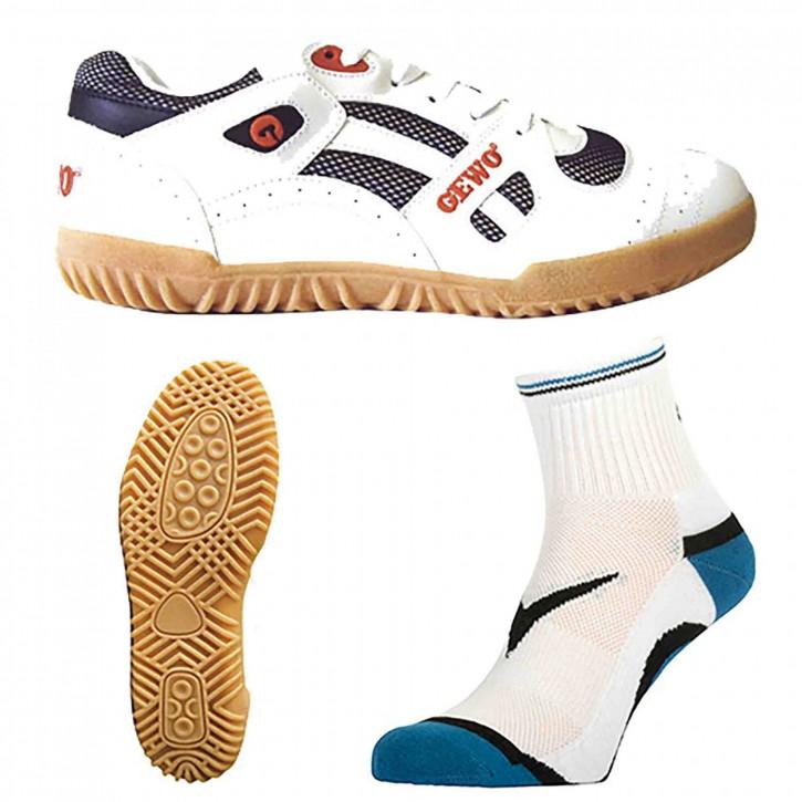 Gewo Schuh TT-Super + Socke Step Flex