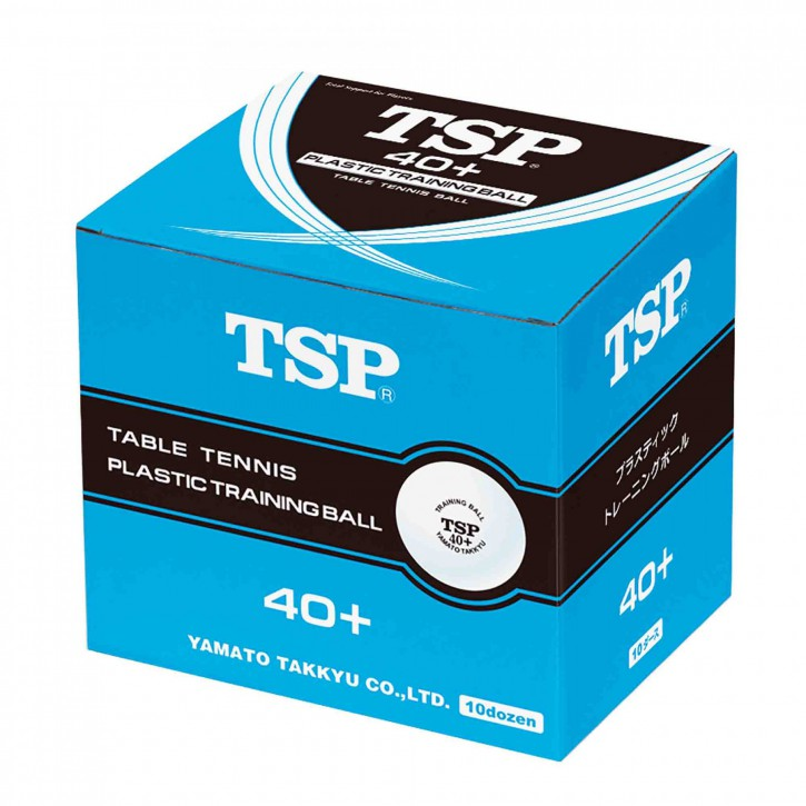 TSP Trainingsball 40+ 120er weiß