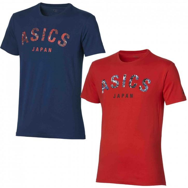 Asics Shirt Camou Logo SS Top