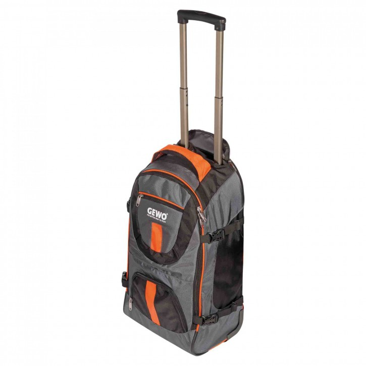 Gewo Trolley Style M schwarz/orange