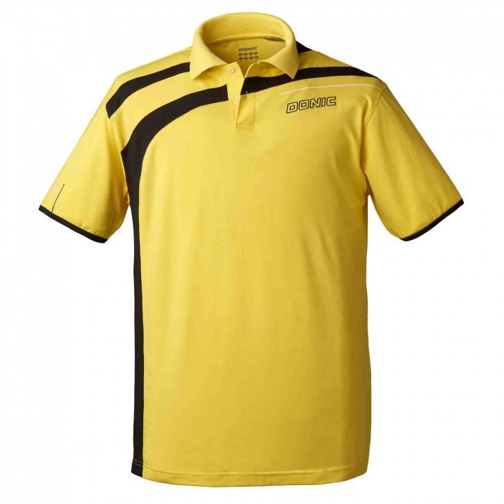 Donic Set Hemd Cooperflex + Short Chilly gelb/schwarz