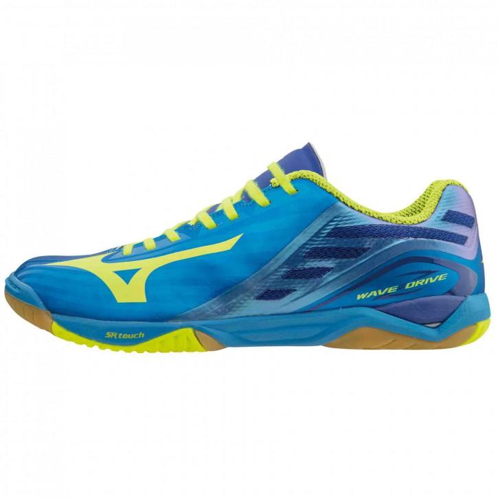 Mizuno Schuh Wave Drive Z blau/gelb
